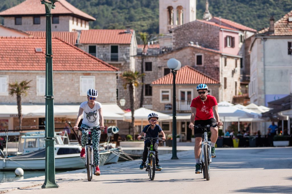 Bicycle tours are a great way for families to explore the world together.