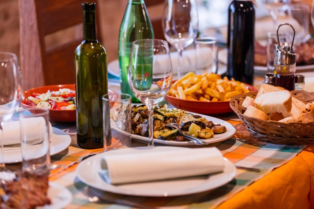 The gastronomic offer of Hvar island is influenced by a number of cultures, it clearly sparks the Mediterranean flavor on its dishes thanks to using of olive oil, fresh veggies, fish, and meat.